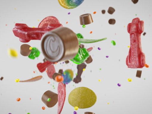 Hemmakväll – Candy rain